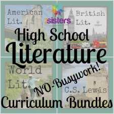 High School Literature No-Busywork Curriculum