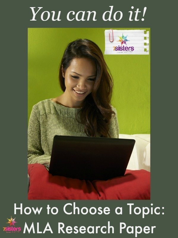 How to Choose a Topic for Your High School MLA Research Paper
