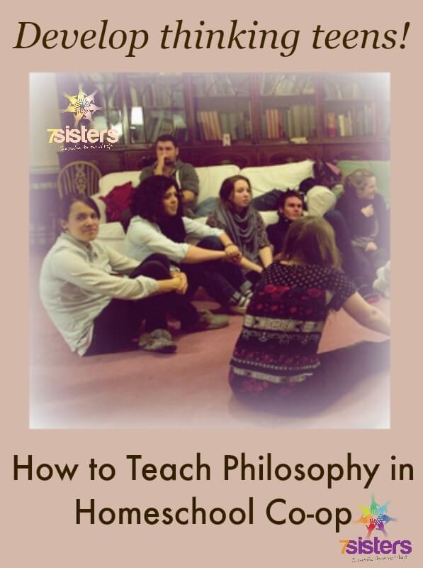 How to Teach Philosophy in Homeschool Co-op