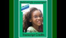 HSHSP Ep 32: 5 Ways to Earn Transcript Credit in Homeschool High School 7SistersHomeschool.com