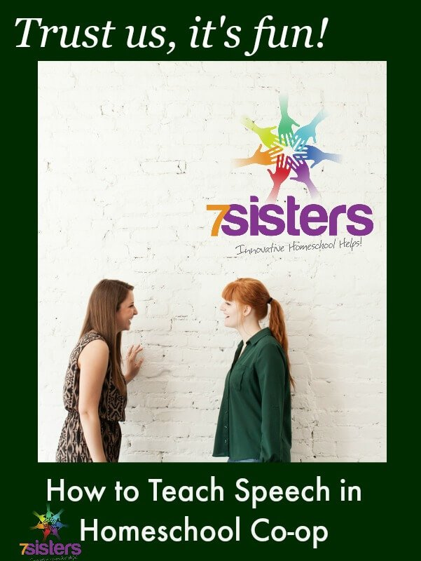 How to Teach Speech in Homeschool High School Co-op
