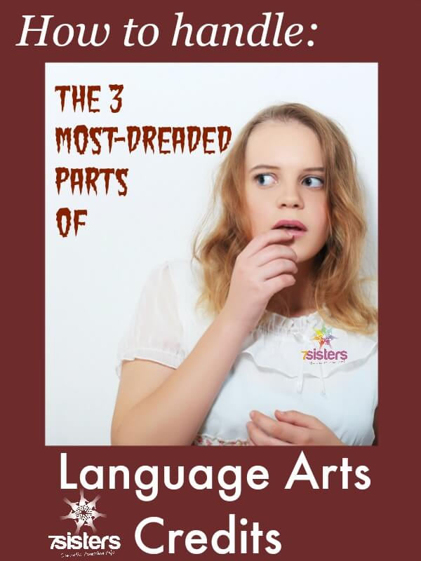 How to Handle the 3 Most Dreaded Parts of the Language Arts Credits