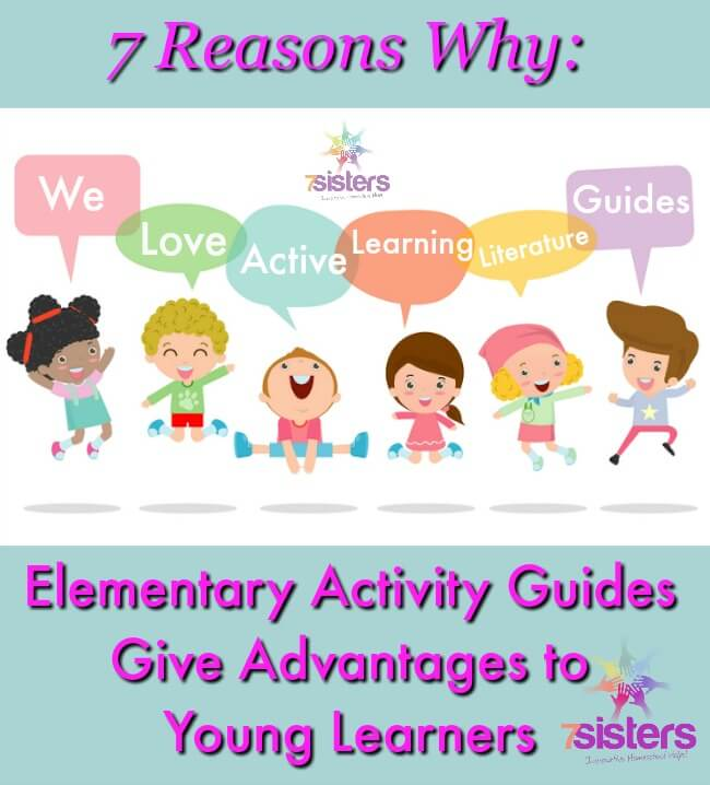 7 Reasons Why Elementary Homeschoolers Love Literature Activity Guides. Give your young readers an advantage with hands-on learning.