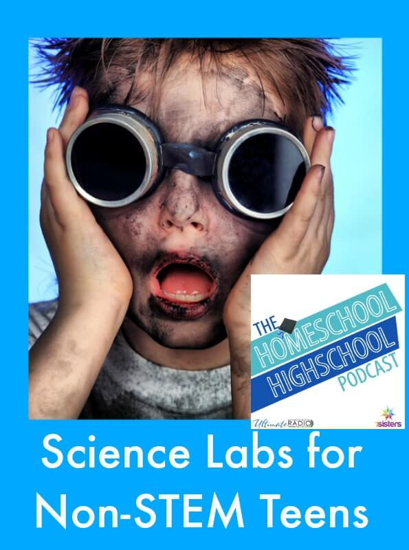 Podcast HSHSP Ep 67 Science Labs for Non-STEM Teens
