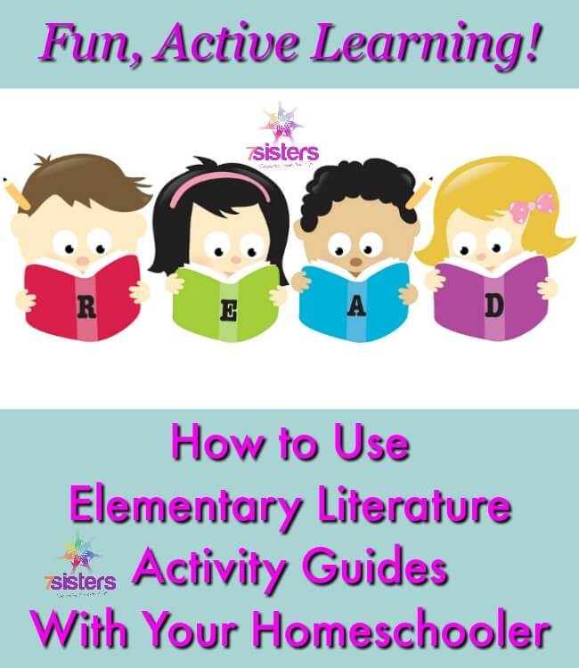 How to Use Elementary Literature Activity Guides With Your Homeschooler
