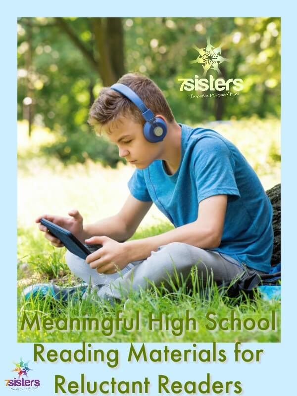 Meaningful High School Reading Materials for Reluctant Readers