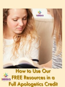 Grandparents and Homeschooling High School How to Use Our FREE Resources in a Full Apologetics Credit