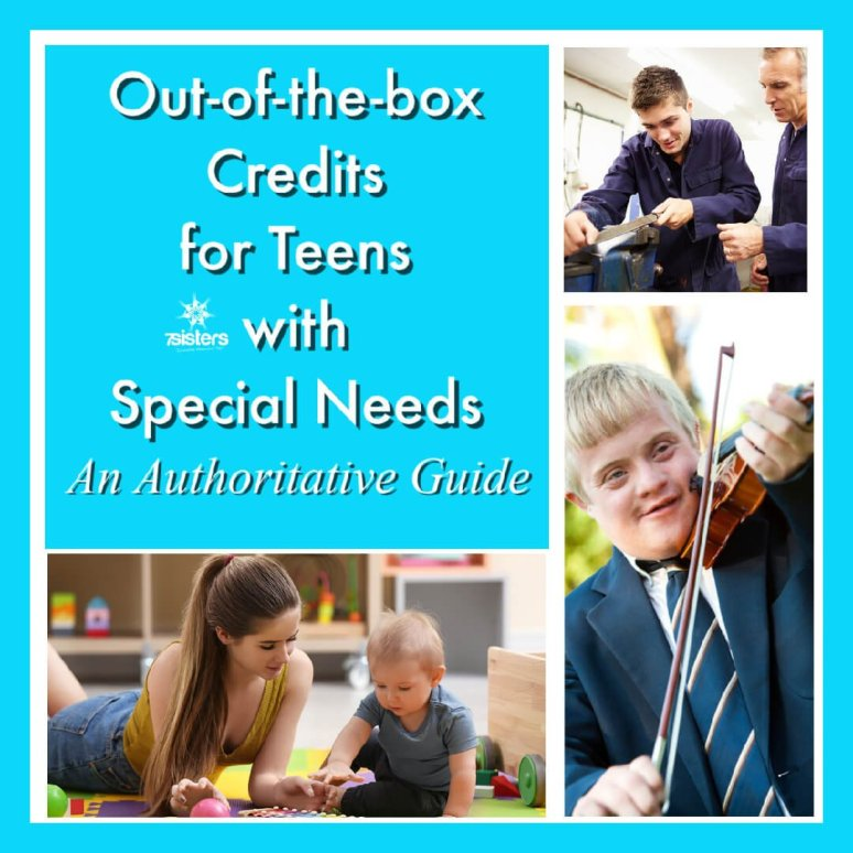 Out-of-the-box Credits for Homeschool High Schoolers with Special Needs: An Authoritative Guide