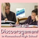 HSHSP Ep 168: Dealing with Discouragement in Homeschool High School There's no such thing as a Pinterest-perfect life. There's no such thing as a Pinterest-perfect mom. Not even a homeschool mom, as much as we would like to try! Everyone of us (even your 7Sisters- who are just like you, only older) have had periods of discouragement. It's just part of real life! Join Kym and Vicki as they get real about when life gets real and they get real discouraged. AND what they do about it.