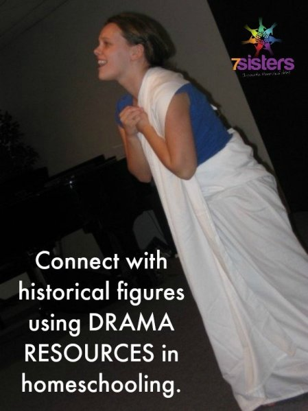 Drama resources help students connect to historical figures