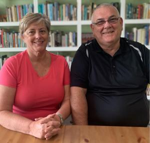 Janet and Geoff Benge of Christian Heroes: Then and Now biography series