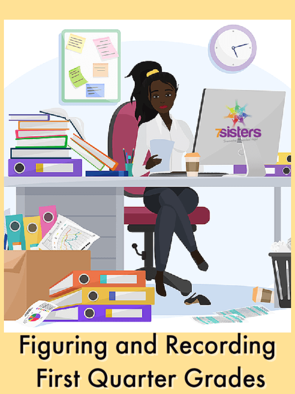 How to Homeschool High School: Figuring and Recording First Quarter Grades. How to calculate quarterly grades and get them on the transcript.