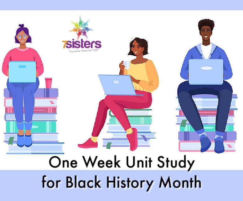 One week unit study for Black History Month. Diversity education introduction for homeschool high schoolers. #HomeschoolHighSchool #UnitStudyForHighSchoolHistory #BlackHistoryMonthUnitStudy #DiversityUnitStudy