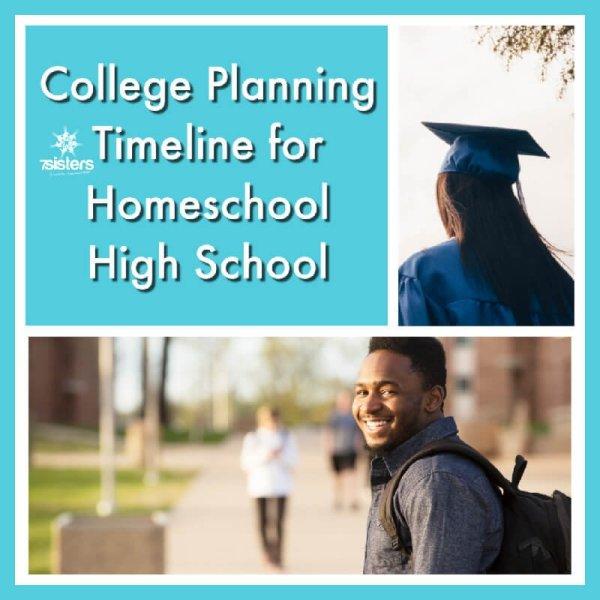College Planning Timeline for Homeschool High School