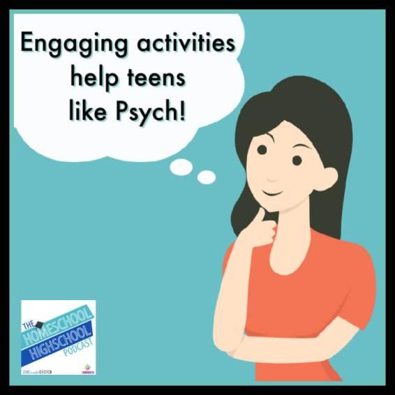 Engaging activities help teens like Psych!