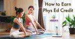 How to Earn Phys Ed Credit in Homeschool High School