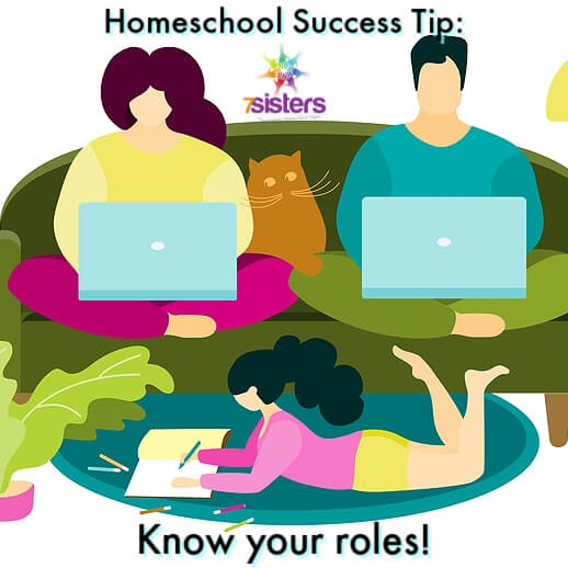 Homeschool success tip: Know your roles