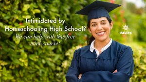 Free Mini-course: Intimidated by Homeschool High School?