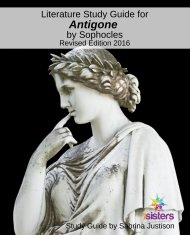 Antigone Literature Study Guide