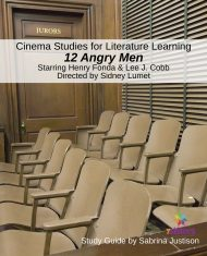 Cinema Study Guide 12 Angry Men