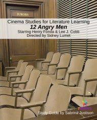 Cinema Study Guide 12 Angry Men