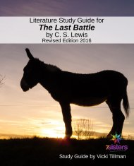The Last Battle Literature Study Guide