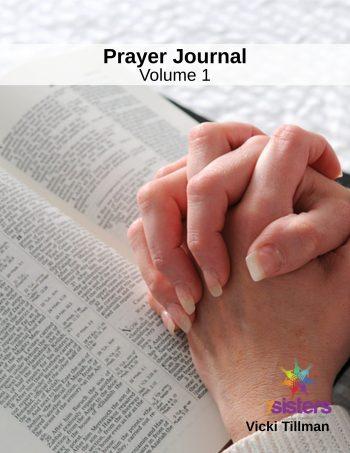 Excerpt from Prayer Journal 1