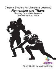 Cinema Study Guide Remember the Titans