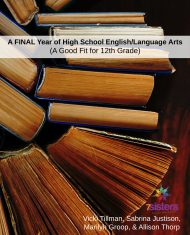 A Final Year of High School English Language Arts a good fit for 12th grade from 7Sisters