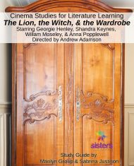 Cinema Study for The Lion, The Witch and The Wardrobe