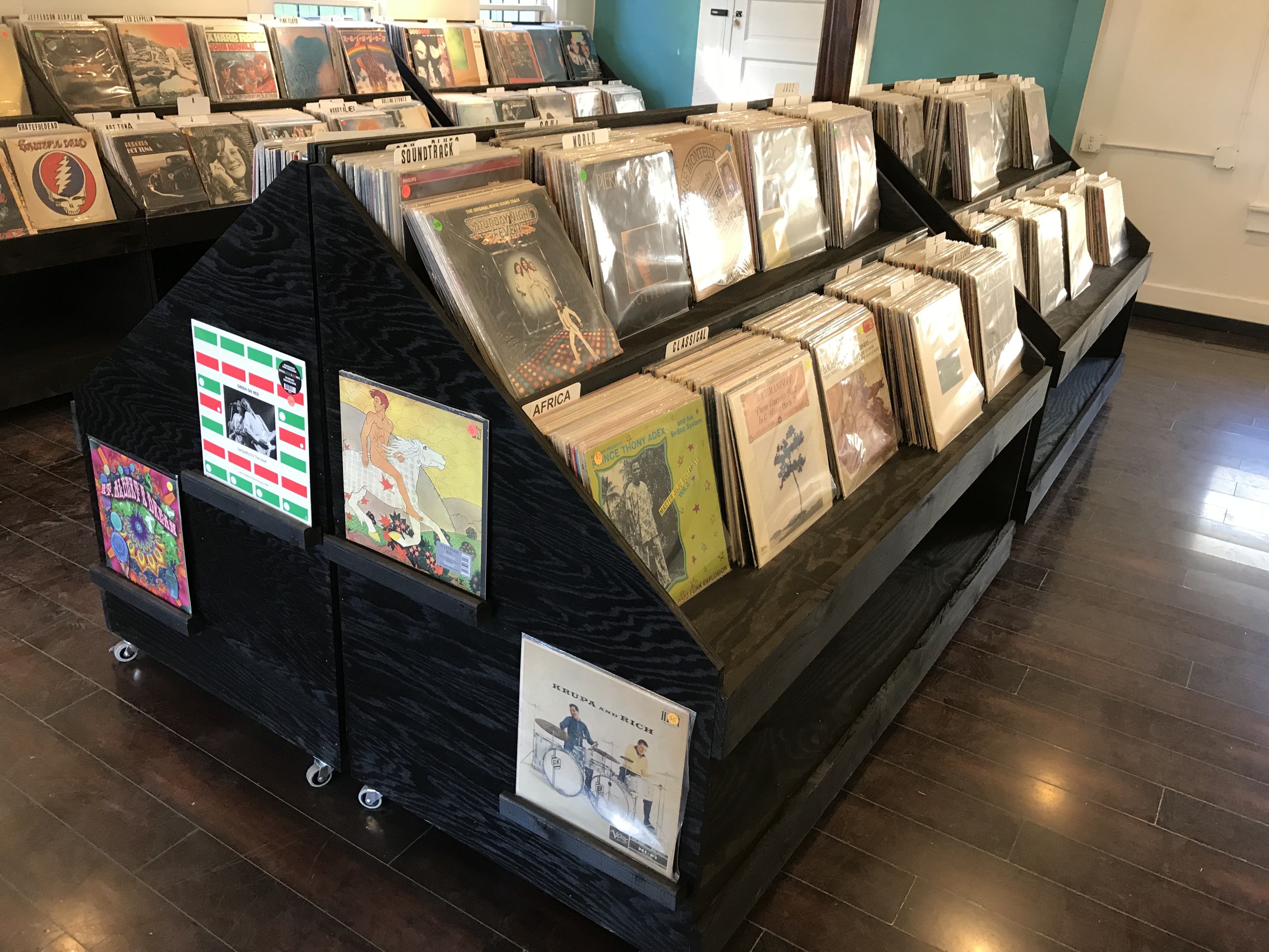 Tucson record stores 7th level music the selection there at the time was mostly classic rock jazz soul and interesting soundtracks note the saturday night fever soundtrack record above solutioingenieria Gallery