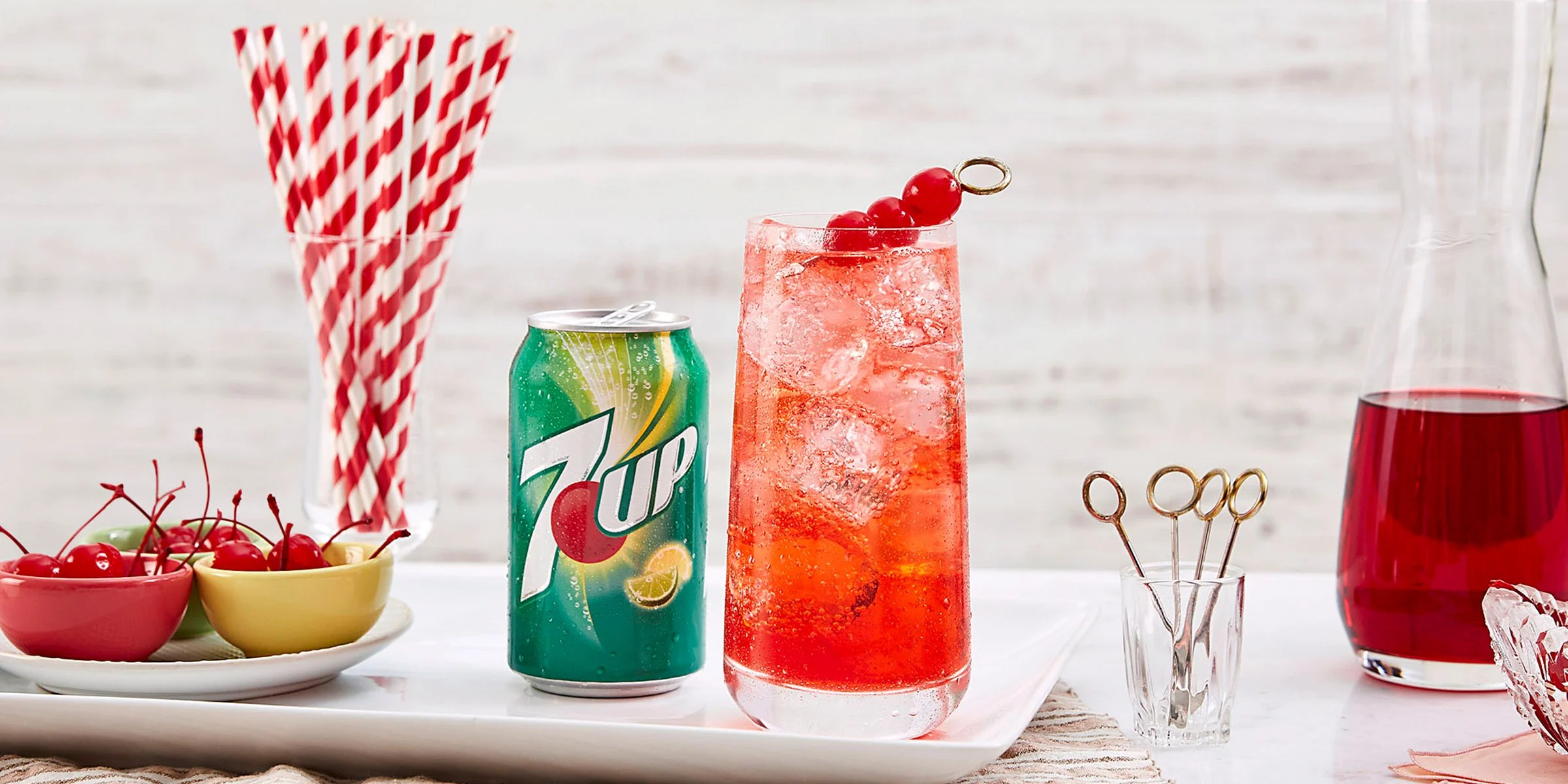 Shirley Temple Recipe 7up