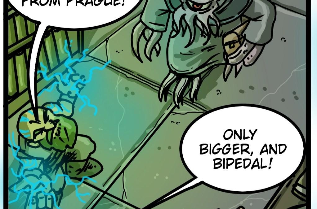 Maynard & Grimm 12: Bigger and Bipedal