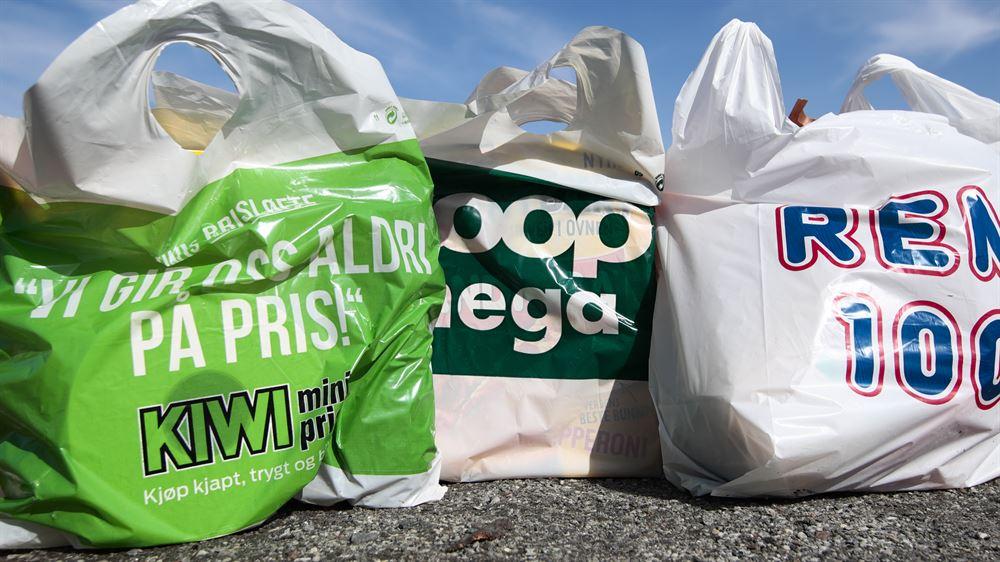 Øker prisen på bæreposer