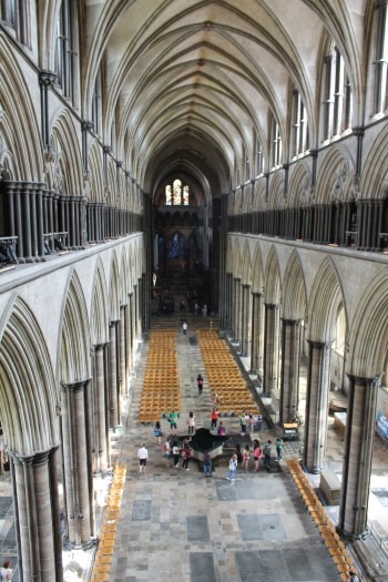The Cathedral from the upper gallery