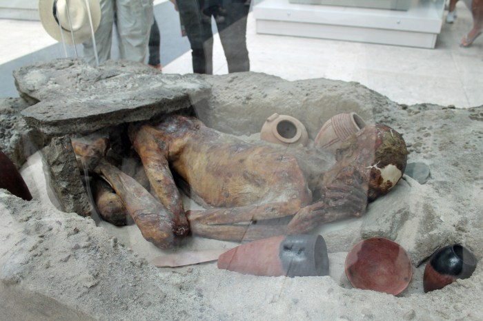 Photo of the mummy of Gebelein Man