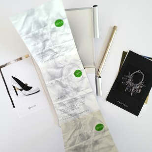 Promotional Materials for Agent 011 Showroom