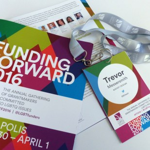 Print Promotional Materials and ID System for Funding Forward 2016