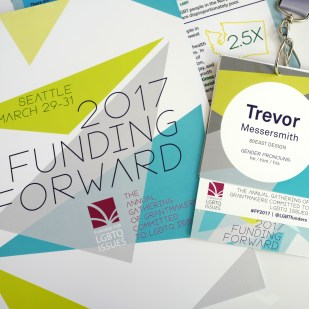 Print Materials and Conference ID System for Funding Forward 2017