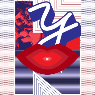 """""""Lyon"""" Poster for Show Us Your Type"""
