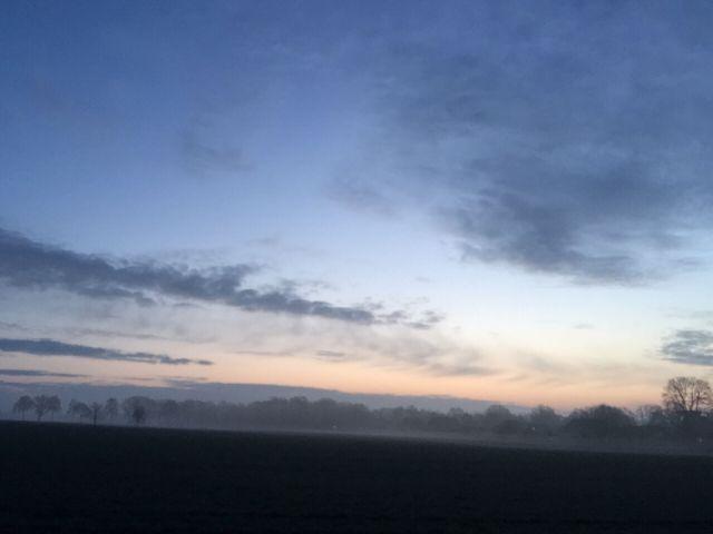 Morgens bei Wettmar