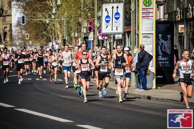 Auf dem Ku'damm - Berliner Halbmarathon 2019