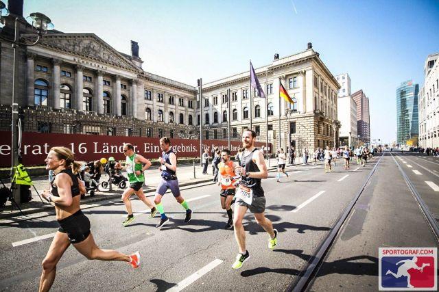 15 km geschafft - Berliner Halbmarathon 2019