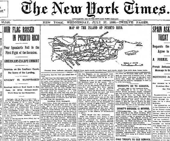 NYT PR July 27 1898