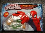 Ultimate Spider-Man Gummy Rings