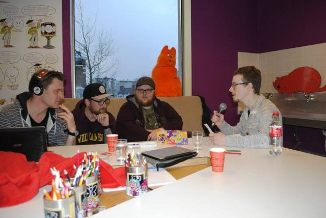 Live Podcast 'Geekers op je speakers'.
