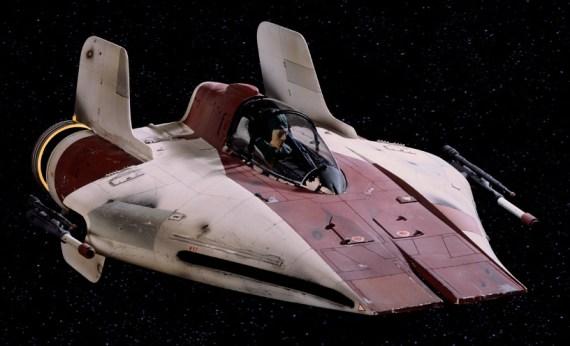 ruimteschip A-Wing
