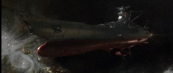ruimteschip Battleship Yamoto