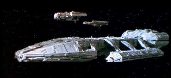 Ruimteschip Battlestar Galactica