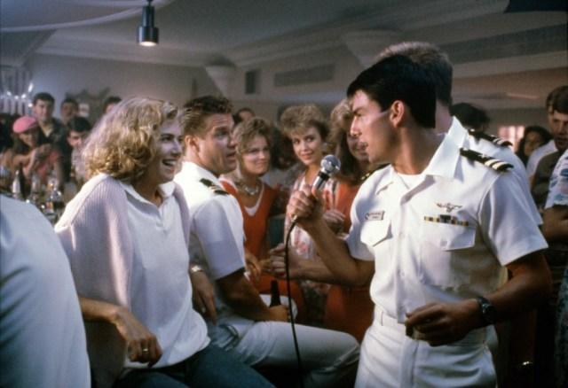 Top Gun bar loving feeling